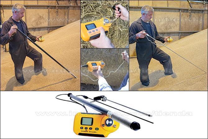 Sondas opcionales para Medidor de humedad y temperatura Protimeter Grainmaster i2-S
