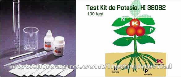 Potasio k test kit de an lisis de potasio en suelo hi for Potasio para plantas