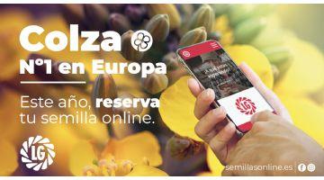 Las variedades de Colza LG, líderes en Europa, se pueden reservar ya a través de la plataforma digital Semillas Online